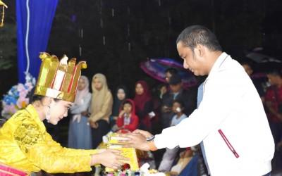 Bupati Hadiri Malam Puncak Festival Pesona Wisata Tapteng Tahun 2019